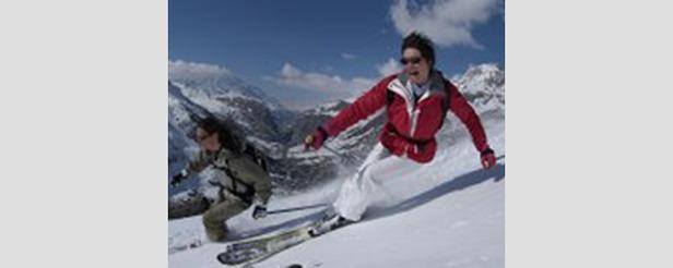 Val d'Isère en avril