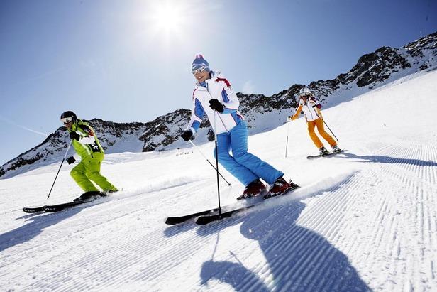 Skifahren im Schnalstal - ©Stefan Schütz