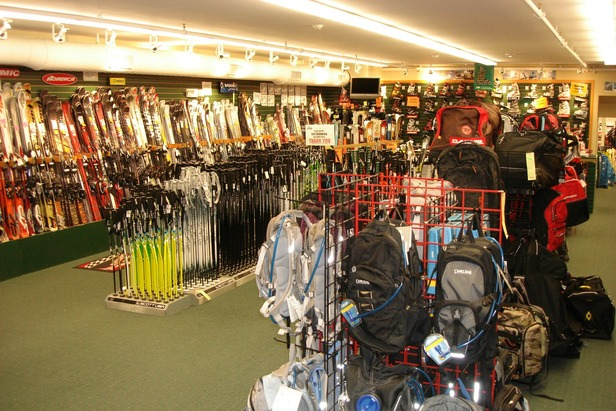 Inside Joe Jones. Photo Courtesy of Joe Jones Sun & Ski Sport.