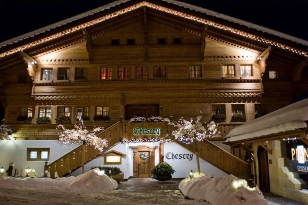 Restaurant le Chesery, Gstaad