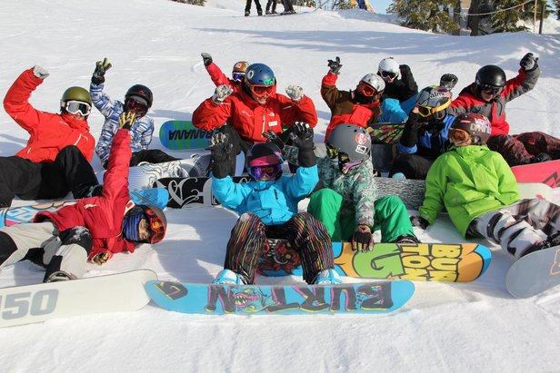 Mt Washington snowboard class