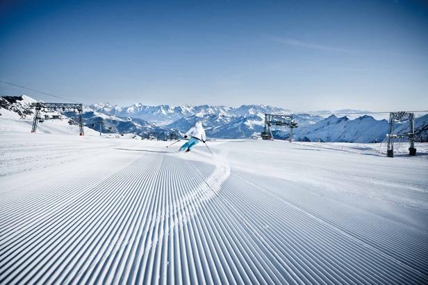 Gletscher-Openings 2017/2018: Hier staubt schon im Oktober der Schnee - ©Zell am See-Kaprun Tourismus GmbH