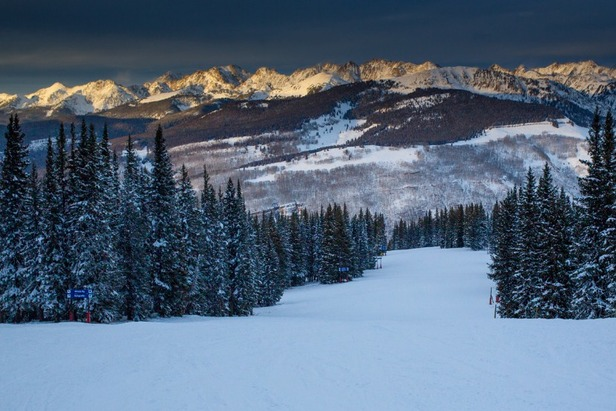 The top of Vail Mountain - ©Jeff Cricco