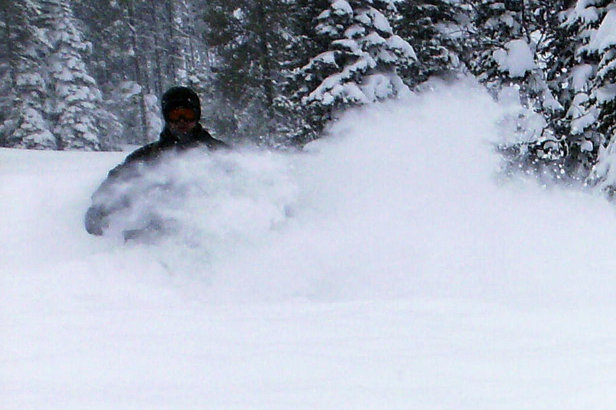 Tamarack Resort on a powder day. Photo by Brent/Flickr. - ©Brent/Flickr