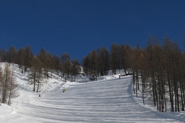 Monterosa Ski - Secondo muro della nera Jolanda - ©Andrea Corbo