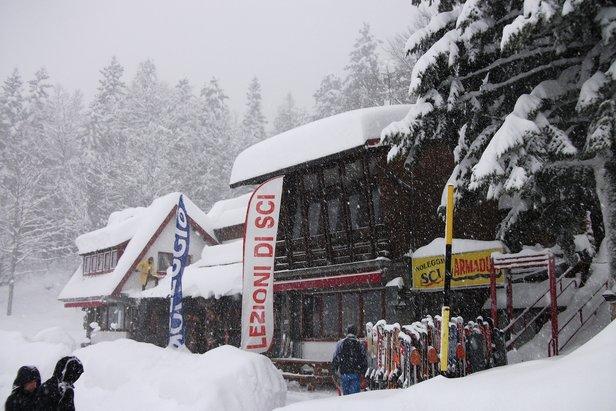 Abetone, nevicata del 15 Gennaio 2012 - Toscana - ©APT Abetone