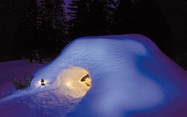 insolite nuit en igloo pralognan skiinfo. Black Bedroom Furniture Sets. Home Design Ideas