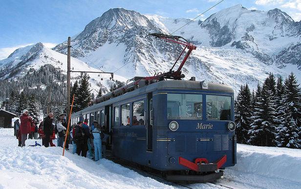 Le TMB (ou Tramway du Mont-Blanc)
