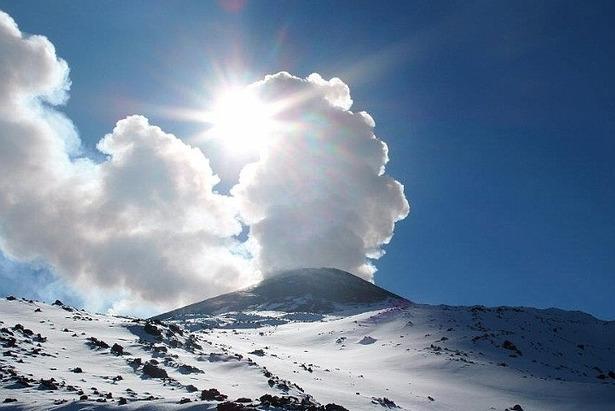 Sciare sui vulcani - Etna, Italia