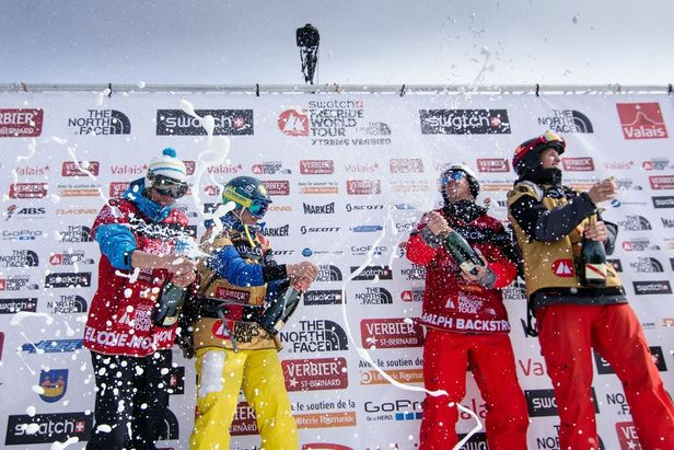 Impressionen vom Freeride World Tour Finale beim Xtreme Verbier