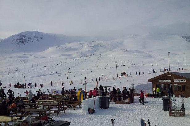 Hlidarfjall ski resort