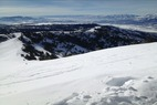 by anonymous user - skiied here sat and