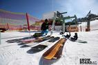 Impressionen vom Snowboardtest der Boards 2014/2015
