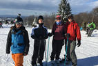 Blue Mountain Ski Area - Sunday, Jan 24th - Part of The Philly Freeriders Snowboarding group takes advantage of the epic conditions here at Blue - Blue Mountain Ski Area