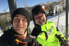 Brian Head Resort - Dad and son, just how it should be, FUN! - Brian Head Resort -