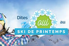 Le ski de printemps avec Travelski - ©Travelski