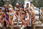 Neue Bilderserien: Cat-Skiing in Irwin/Colorado, Hooters Girls in Aspen
