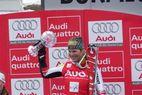 Marlies Schild und Lindsey Vonn auf der Pressekonferenz in Bormio - ©XNX GmbH