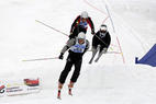 Schweizer Ski Cross Rennen starten erfolgreich in Zweisimmen - © www.PaulFoto.de