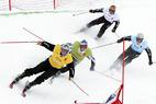 Die Skicross-Weltmeisterschaften 2005 in Ruka - ©Andy Mettler