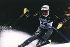 Sebastian Amiez führt im Slalom nach 1. Durchgang - ©*