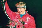 Ab 14.30 Uhr im Live-Chat: DSV-Skistar Hilde Gerg nach dem Super G in Zauchensee - ©Gerwig Löffelholz