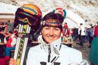 Interview mit der Riesenslalom Siegerin Lilian Kummer - ©Gerwig Löffelholz