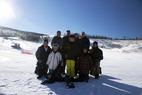 Family at Ski Granby Ranch. - Family at Ski Granby