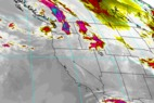 Where's the Snow This Weekend: West Coast Report 1/31/13 - ©NOAA