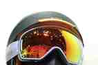 helmet and goggles at Scott stand at ISPO Munich 2013 - ©Juliane Matthey