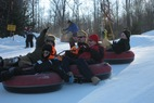 Tubing at Christie Mountain. - Tubing at Christie Mountain.