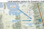 Learn how to predict snowfall totals for Snowbird in Little Cottonwood Canyon. - Learn how to predict