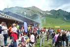 Journe de ramassage des dchets en montagne  Praz de Lys-Sommand