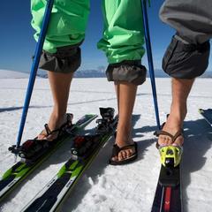 Le ski d'été ou comment allier plaisir de la glisse sur neige et soleil d'été... - ©Zermatt Tourismus