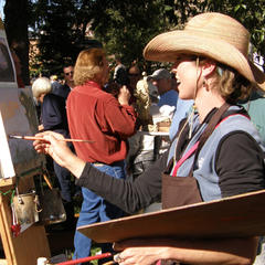 Jackson Fall Arts Festival QuickDraw Art Sale - ©Kathy Erickson