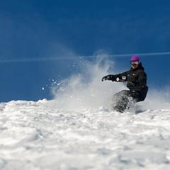 Secret slopes for expert skiers, riders