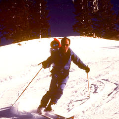 Ted Ligety and father - ©Ligety Family Photos