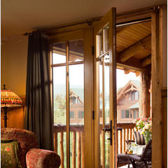 Whiteface Lodge porch entry