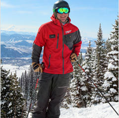 Olympian, Tommy Moe at Jackson Hole