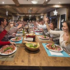 restaurant la Clusaz - ©P. Lebeau
