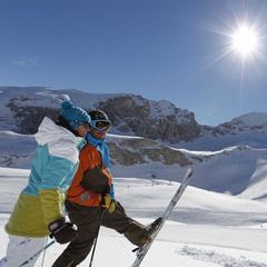 Saint Valentin au ski