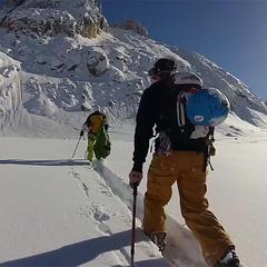 CHAM'LINES #5 : Le couloir du Glacier du Chardonnet - ©CHAM'LINES