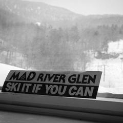 Mad River Glen is a steep, tight, cliff-laden area sure to keep you entertained. - ©Liam Doran