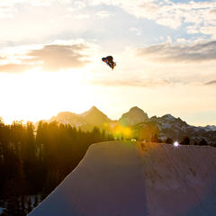 Mammoth Mountain Claims North America's Favorite Park & Pipe - ©Peter Morning