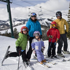 Deer Valley family skiing - ©Deer Valley Resort