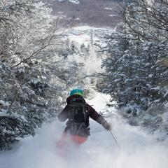 Jay Peak powder day - ©Jay Peak Resort