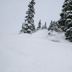 Copper Mountain, CO skier