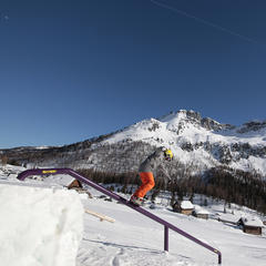 Val di Fassa, Snowparks  - ©APT Val di Fassa - F. Modica
