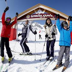 Apprendre à skier en s'amusant : les meilleures zones ludiques - ©David André