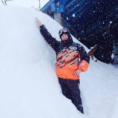 Huge snowfalls in French Pyrenees Feb. 25, 2015